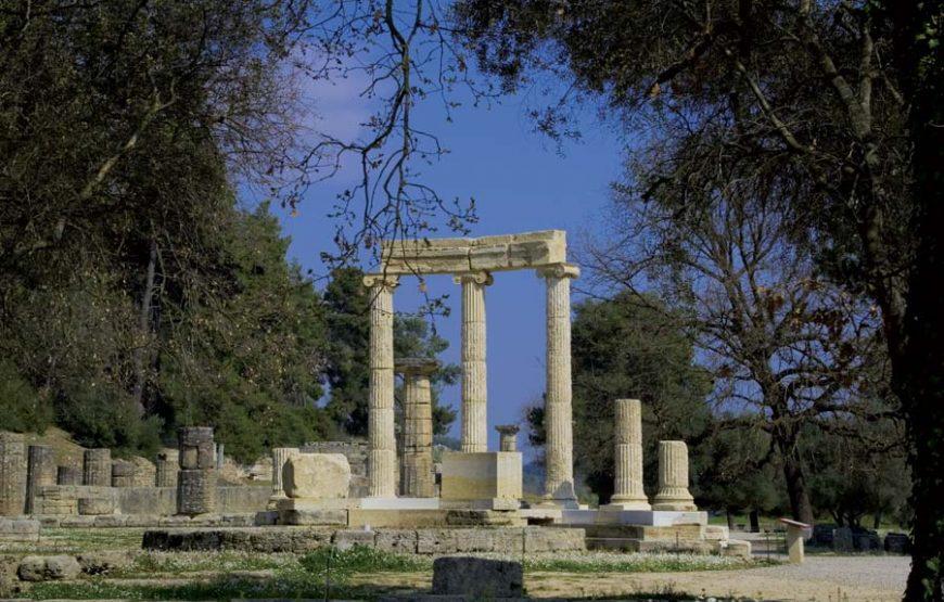 Tour Grecia classica e monasteri Meteore con volo dall'Italia.