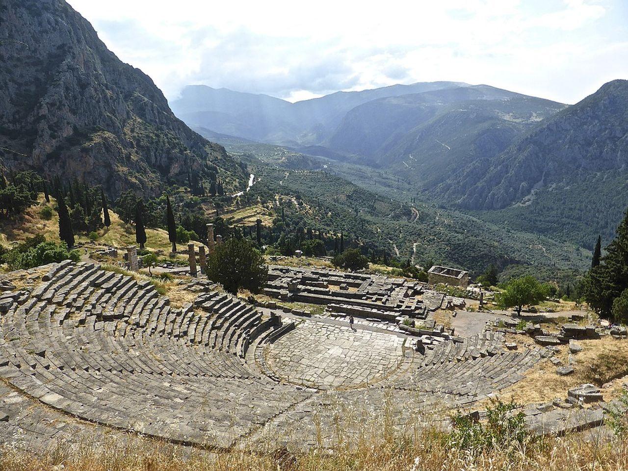 Delfi il Teatro Tour Grecia Classica