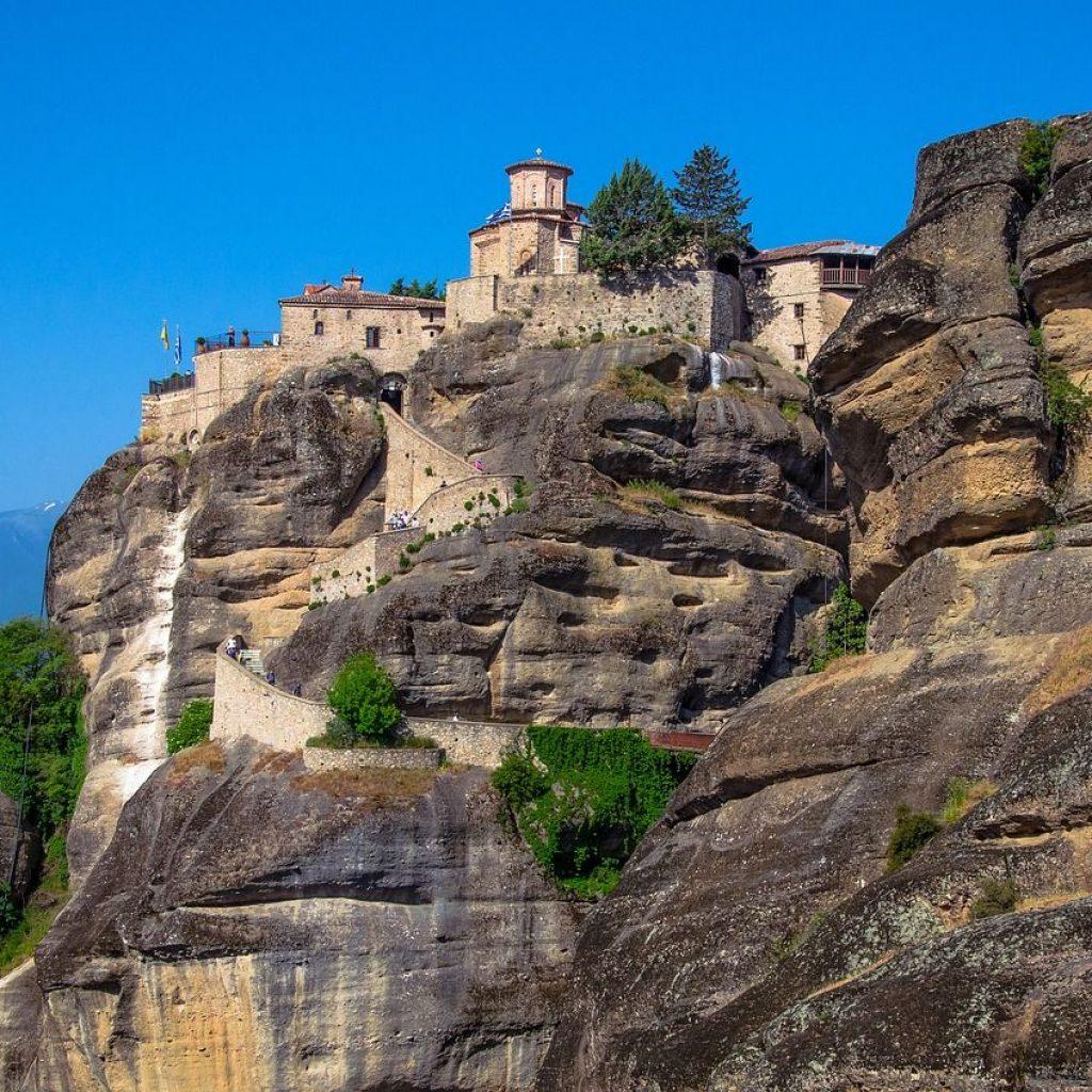 Monastero delle Meteore Fonte pixabay.com