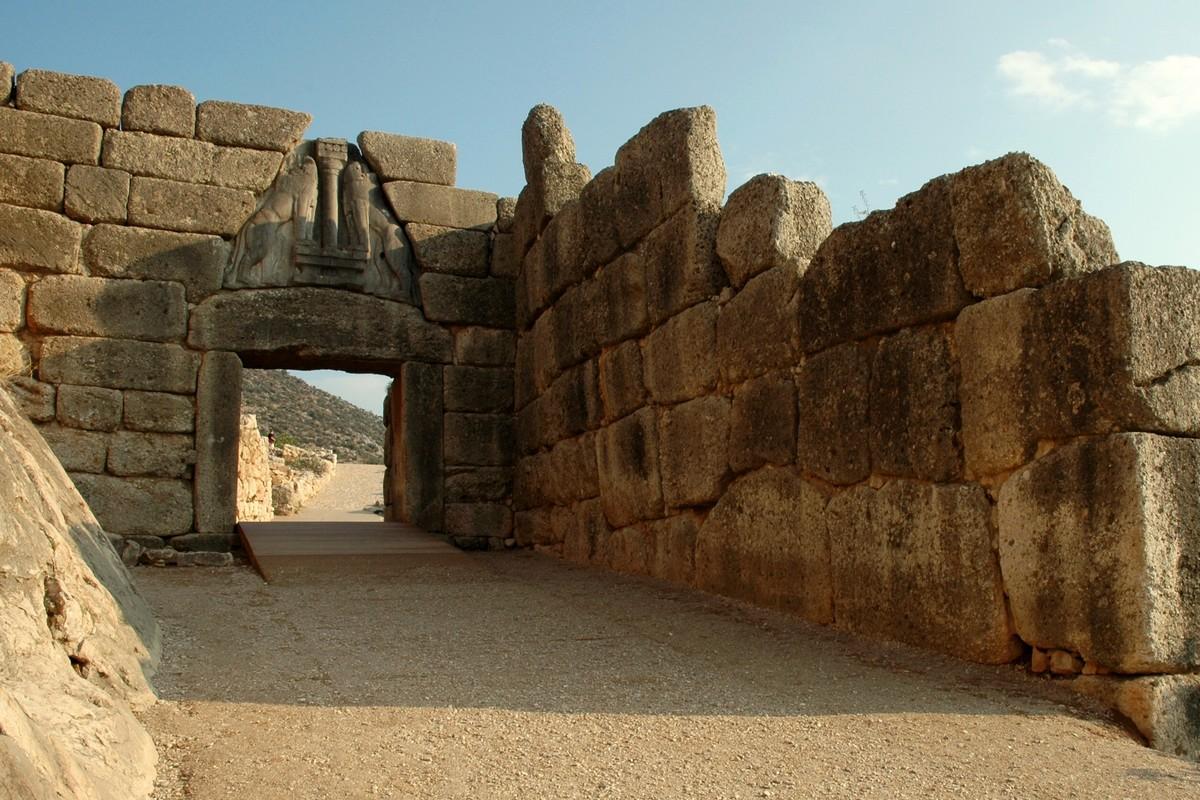 Porta dei Leoni di Micene Tour Grecia Classica