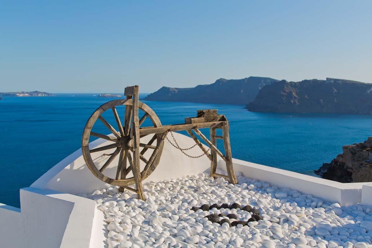 Santorini, punto panoramico