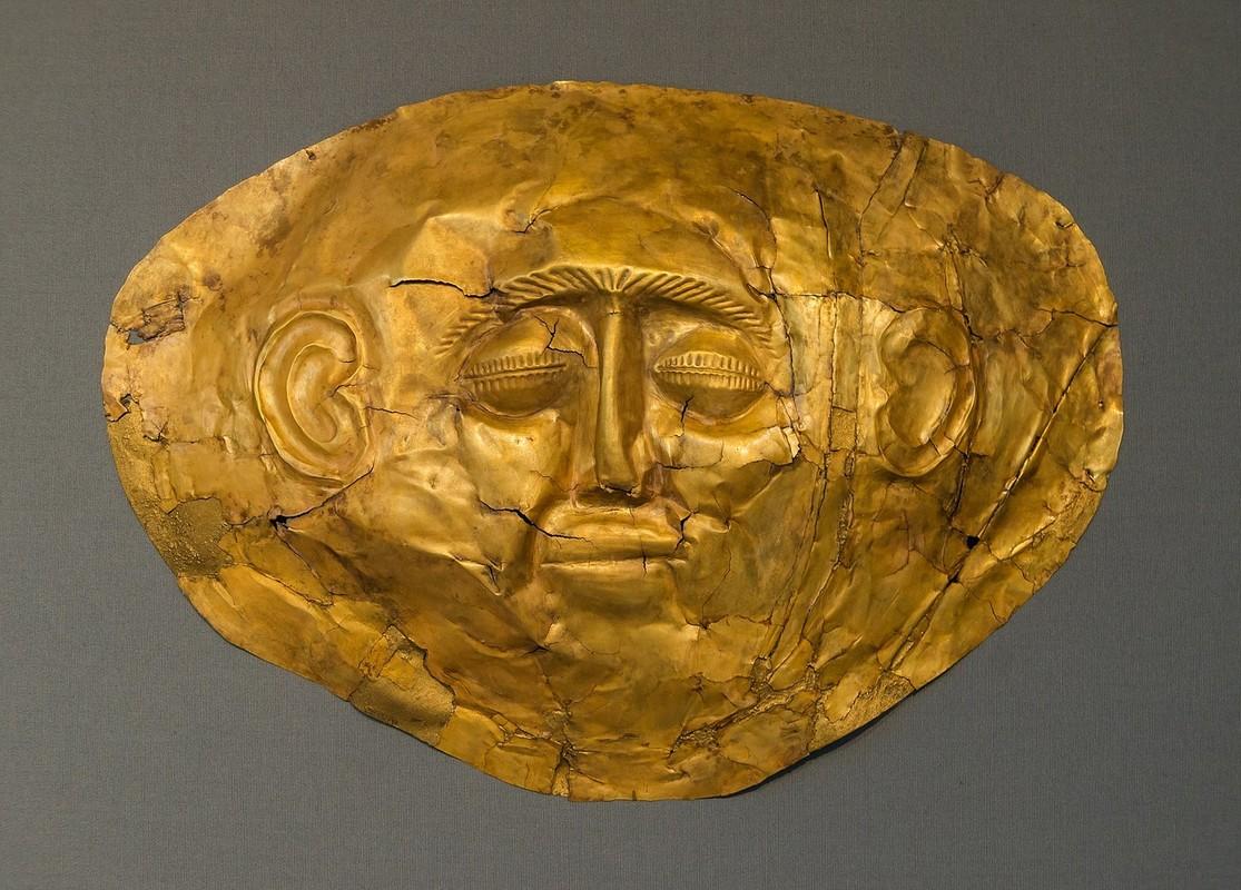 Sito archeologico di Micene Maschera di Agamennone 1 Tour Grecia Classica