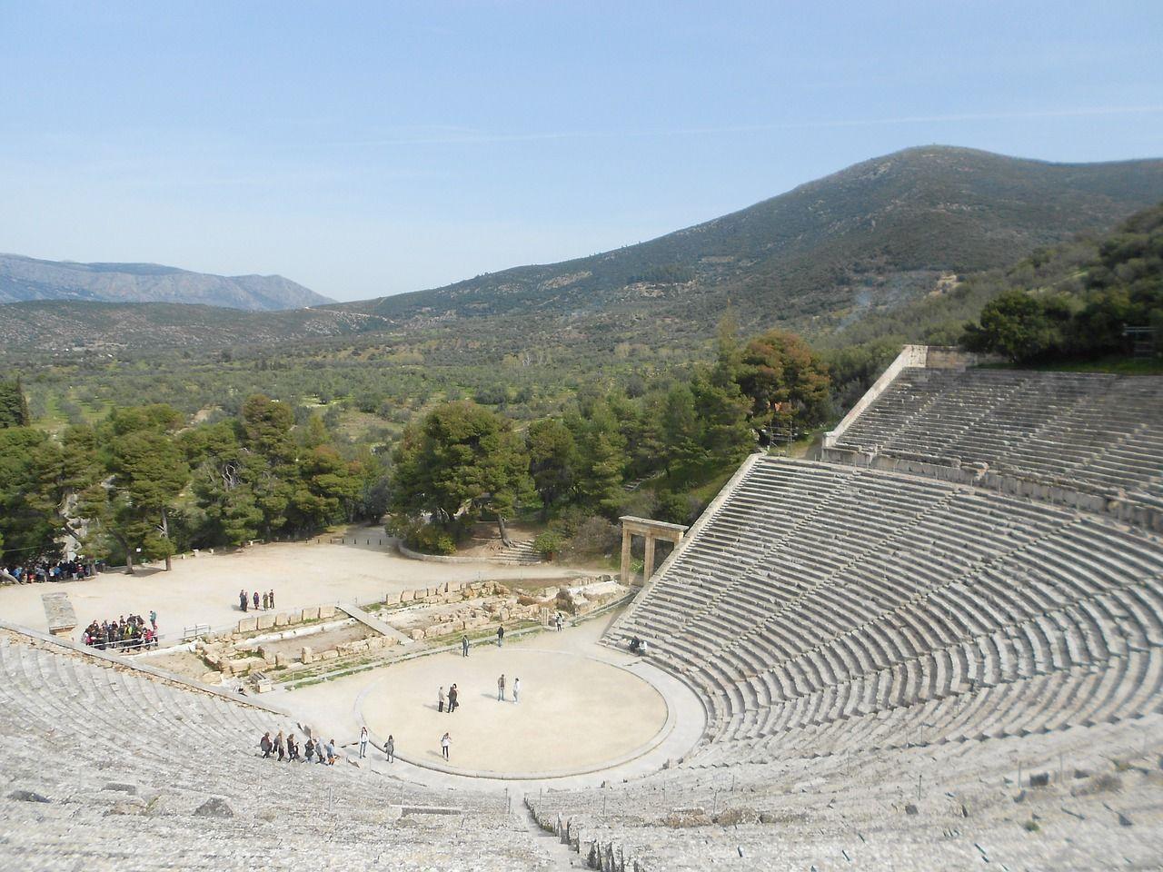 Teatro di Epidauro Tour Grecia Classica