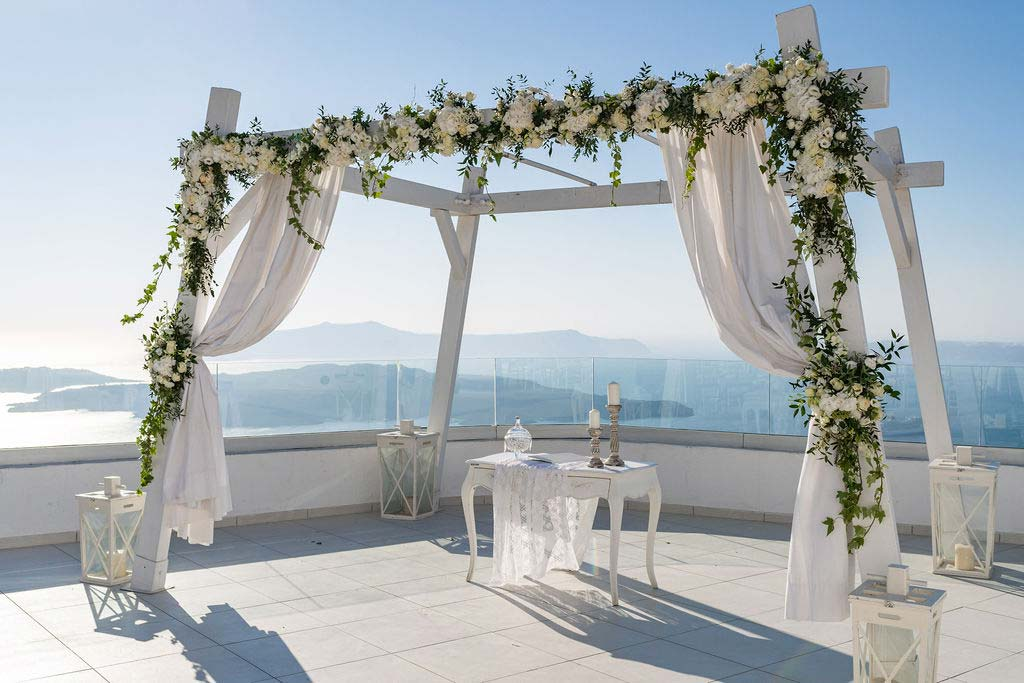 location santorini matrimonio in grecia
