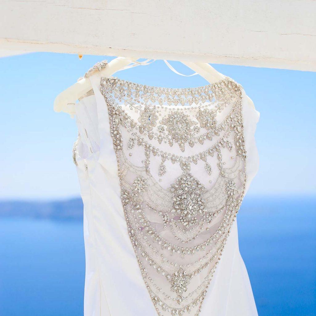abito da sposa per matrimonio in grecia