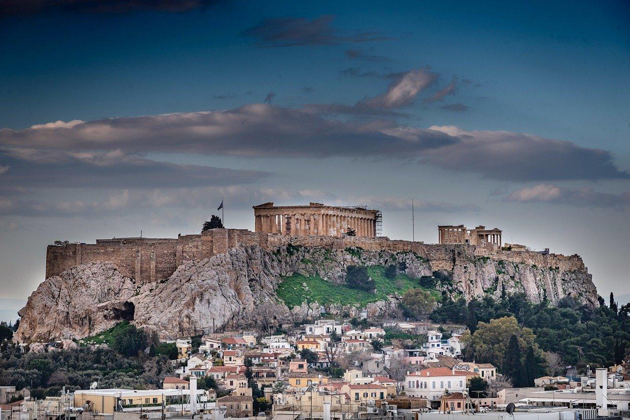 Arte ad Atene Foto di Nimrod Oren da Pixabay