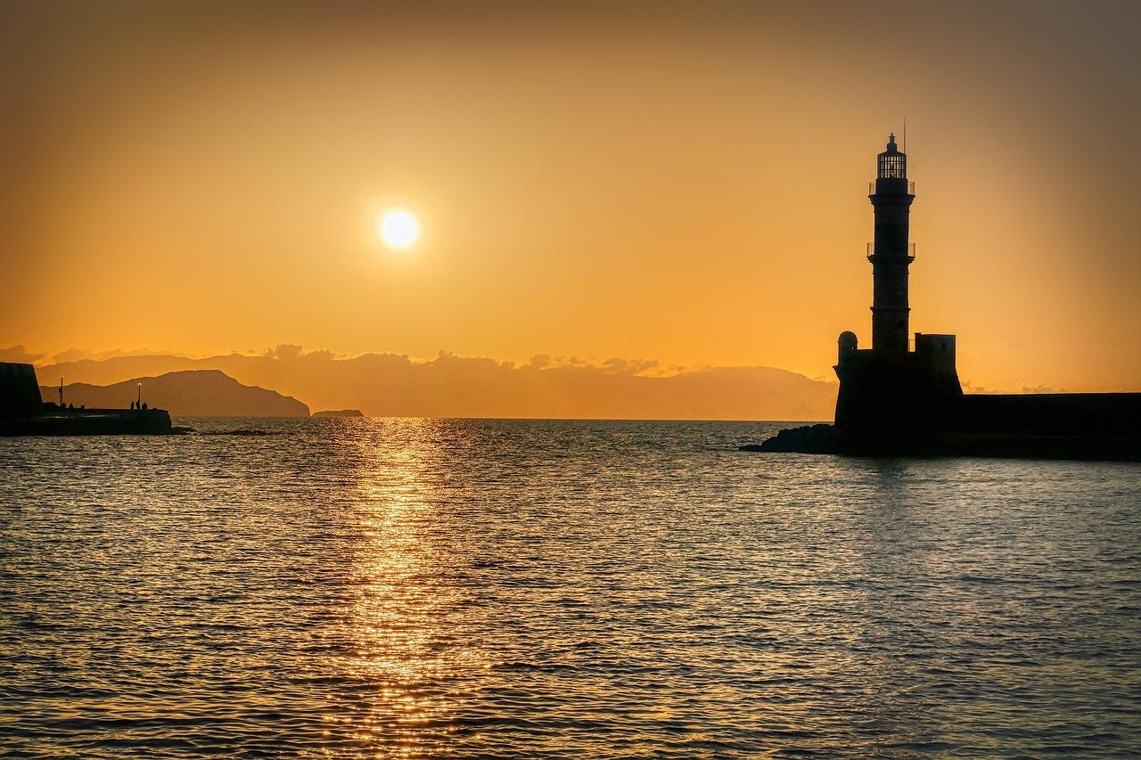 Faro di Chania Cosa vedere a Creta Foto di Albrecht Fietz da Pixabay