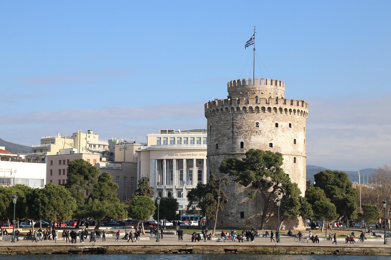 La Torre Bianca Cosa vedere a Salonicco Foto di alexalf2 da Pixabay