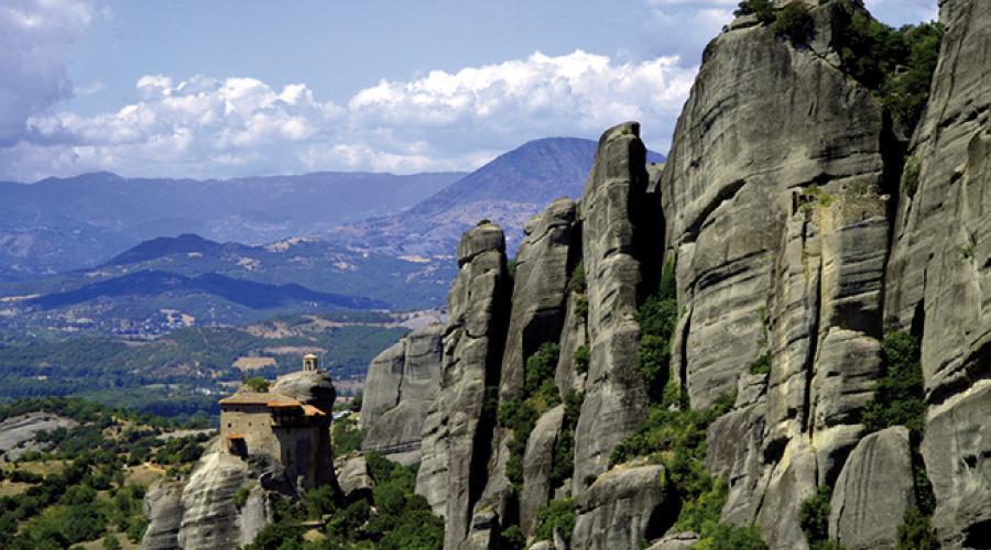 Giorno 6 - Giovedì - Kalambaka - Meteore - Atene