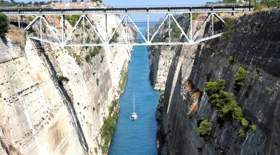 Giorno 2 - Canale di Corinto, Epidauro, Micene, Nauplia